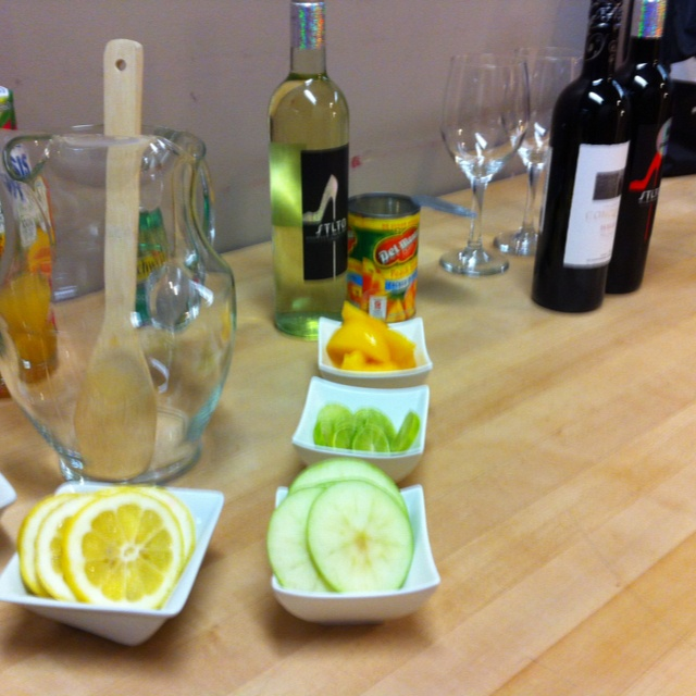 STLTO White Sangria - A photo from our segment on @Morninglive