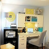 fresh home office makeover