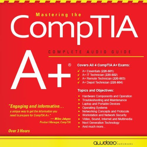 86 best books to read images on pinterest books to read libros test preparation audible audio edition best price mastering the comptia a complete audio guide fandeluxe Choice Image