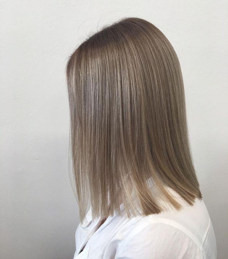 Empress Hair Brisbane - Mon - Ash Blonde Balayage Medium