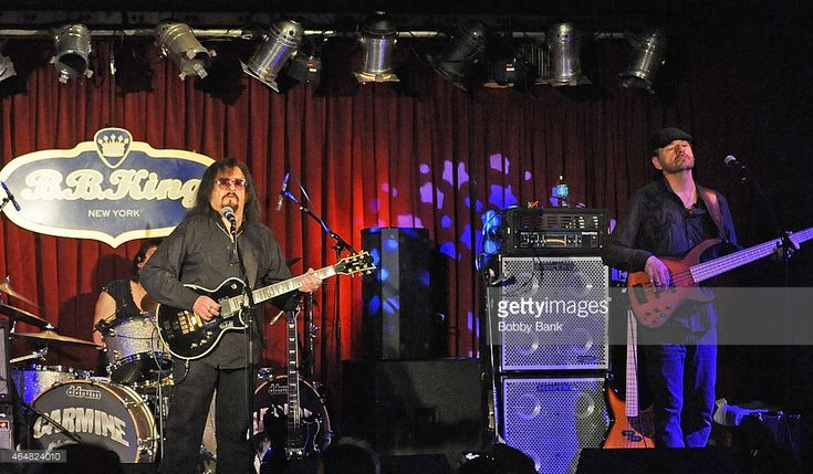 Carmine Appice, Pete Bremy and Vinny Martell of Vanilla Fudge perform at B.B. King Blues Club & Grill on February 27, 2015 in New York City.