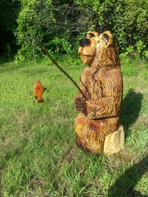 17 Best images about meader.built chainsaw carvings on ...