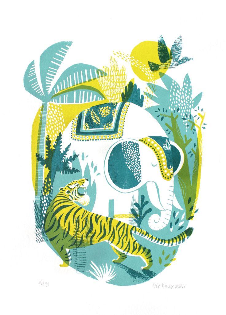 Jungle - essillustration