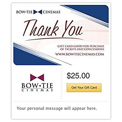 Bow Tie Cinemas Gift Cards - E-mail Delivery *** Tried it! Love it! Click the image. : Gift cards