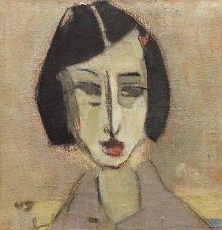 Helene Schjerfbeck (Finish 1862–1946) [Realism, Impressionism, Expressionism, Romanticism] Göta, 1933.