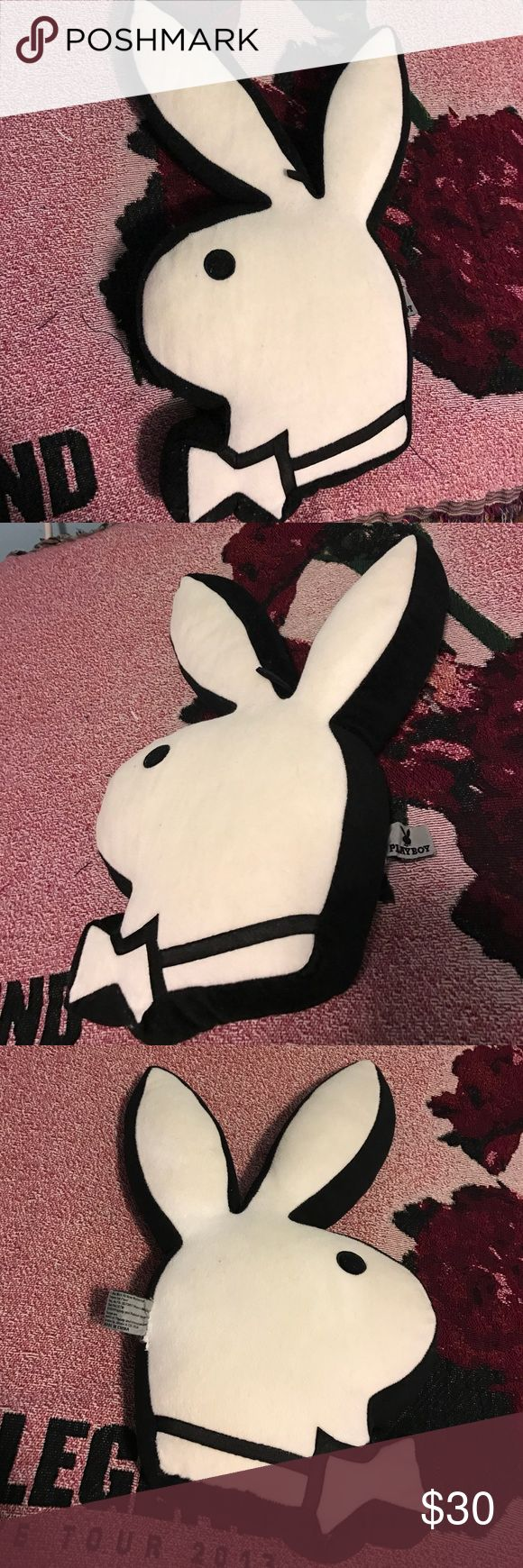 Playboy medium throw pillow Great condition, smoke free home. Thank you for looking and feel free to ask any questions. Playboy Other