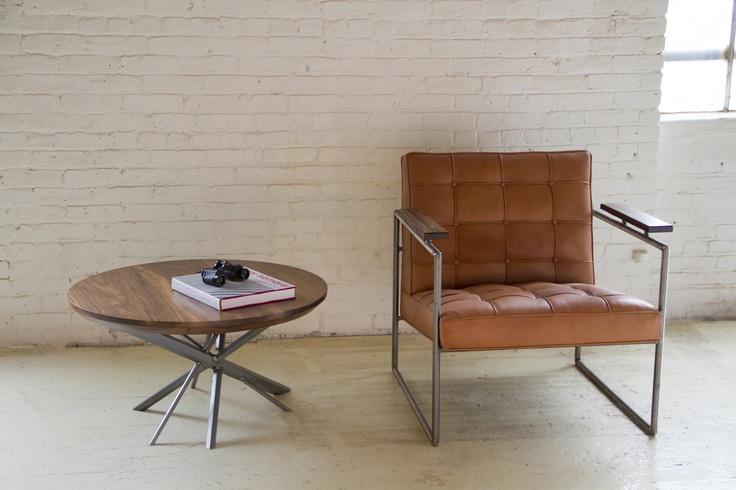 Kaos coffee table and 1935 chair