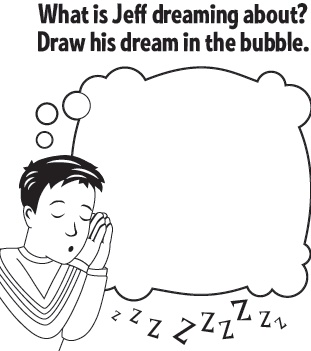The Wiggles want to know what Jeff is dreaming about! Let your child draw what they think he's dreaming of! #kid #activity