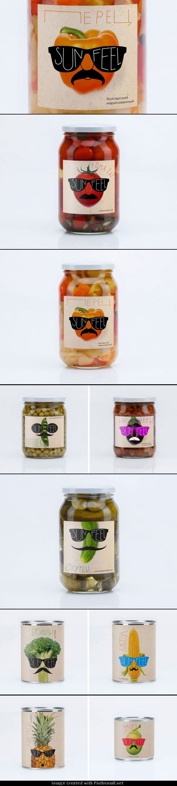 The cutest veggie and fruit #packaging PD - created via http://www.thedieline.com/blog/2013/9/23/sunfeel.html