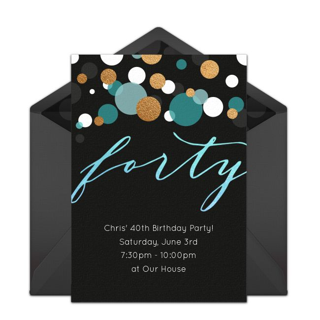 447 Best Funny Birthday Party Invitations Images On: Best 25+ 40th Birthday Invitations Ideas On Pinterest