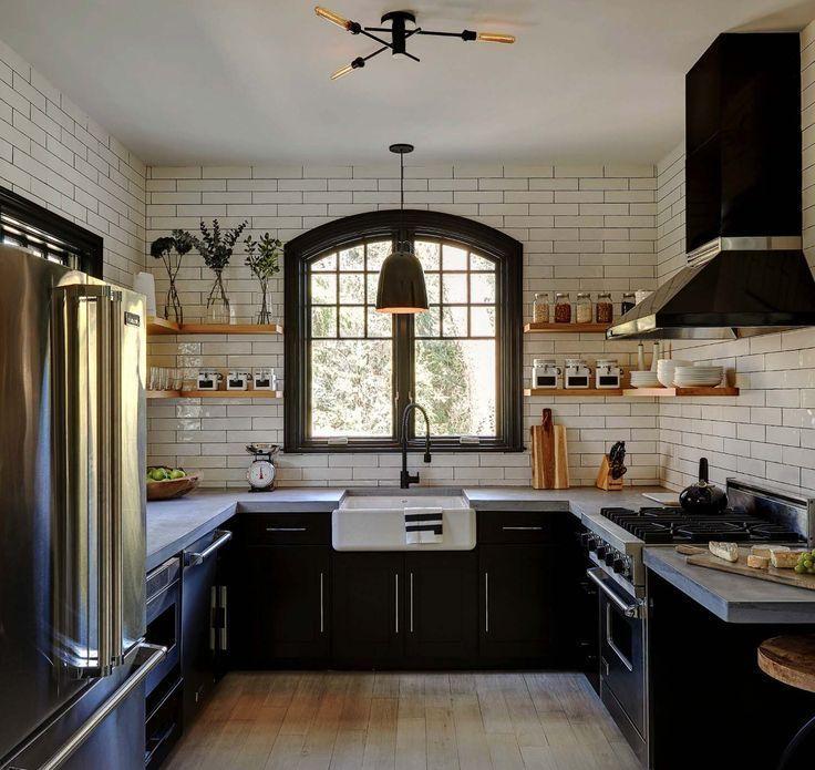 35 Amazingly Creative And Stylish Farmhouse Kitchen Ideas Your Life S Popular Farmhouse Style Kitchen Interior Design Kitchen Kitchen Interior