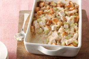 Swiss 'n Chicken Casserole - Holidays