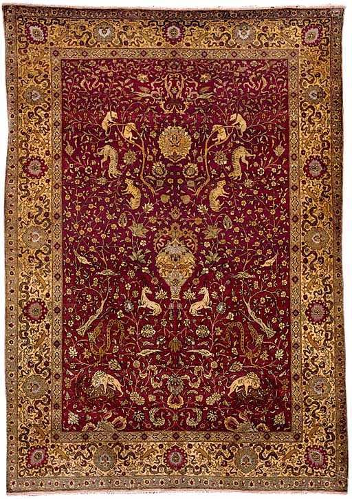 Antique Hereke Rugs Hereke Silk And Metal Thread Prayer