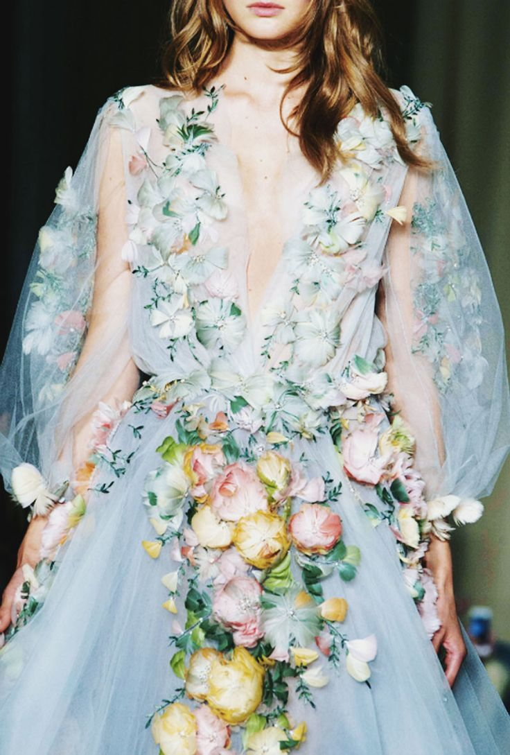 Marchesa Spring 2015 Ready-to-Wear :: This is Glamorous