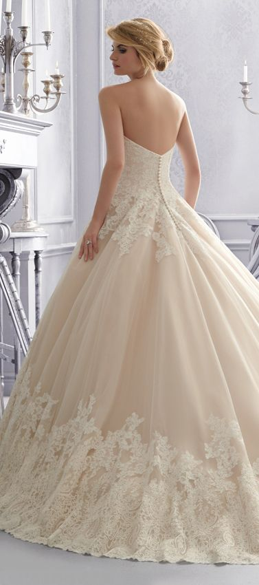 Ballgown beauty ~ Mori Lee by Madeline Gardner Fall 2014 | bellethemagazine.com