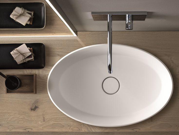 17 mejores ideas sobre lavabos suspendidos en pinterest ducha de concreto lavamanos y ba o de - Lavabos suspendidos leroy merlin ...