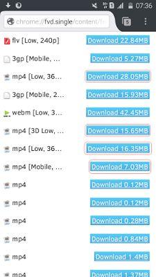 Link Download Video Dari Youtube Lewat HP Android