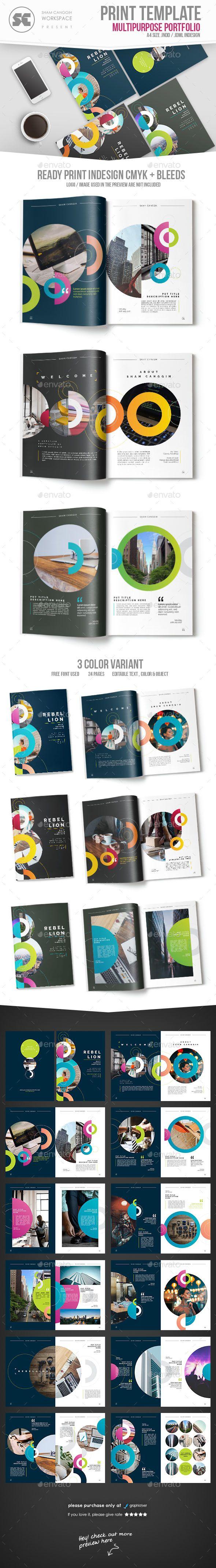#Multipurpose Creative Portfolio - #Portfolio #Brochures