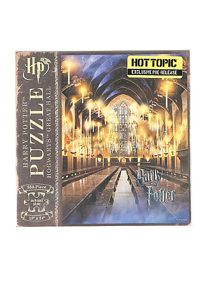 Harry Potter Hogwarts Great Hall 550-Piece PuzzleHarry Potter Hogwarts Great Hall 550-Piece Puzzle,