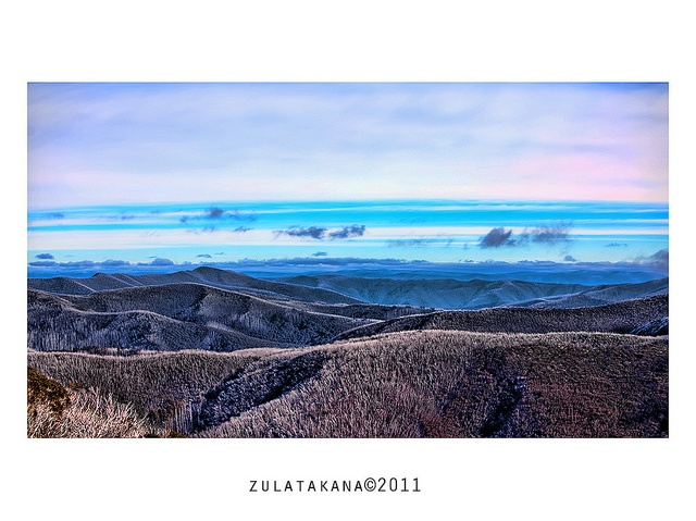 View from Mt Hotham 2011, via Flickr.