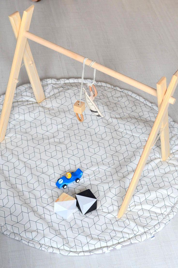 Dřevěná hrazdička – BigPig: