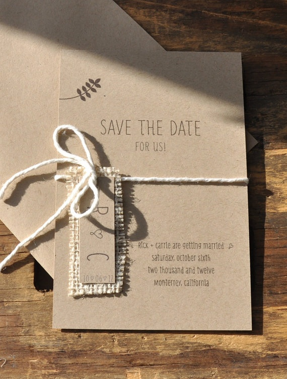 simple save the dates .. cute!