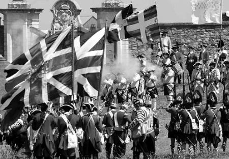 Battle of Louisbourg-- the English and French fought twice for Louisbourg. The French held it in 1757. The English conquered it in 1758.