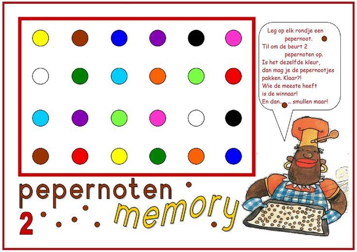 * Pepernoten memory! 2-2