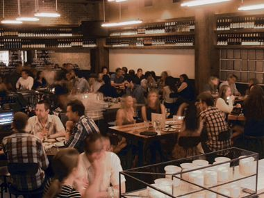 Stella Rosa Pizza Bar   Blocks from the Santa Monica Pier, kids perch at a bar and make their own mini pizzas. But that's just the backdrop to the adult enticements, like the bustling, sceney atmosphere, small but mighty wine list, and best spinach and kale salad west of the Mississippi.    2000 Main Street, Santa Monica, California (310-396-9250 or stellarosapizzabar.com).