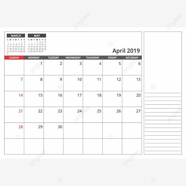 2019 Calendar Png Hd 2019 Calendar Calendar Template Calendar