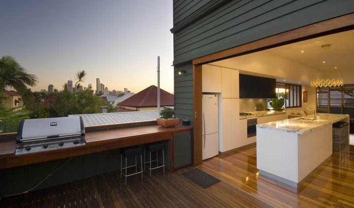 Arthur - indoor/outdoor kitchen and deck