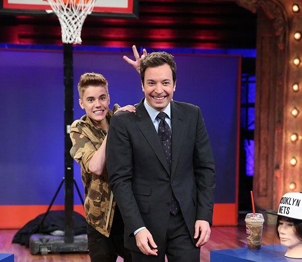 #JustinBieber (the biebs) on Jimmy Fallon last night