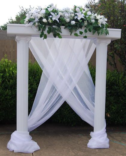 Wedding+Column+Decorations | Columns For Wedding Decorations