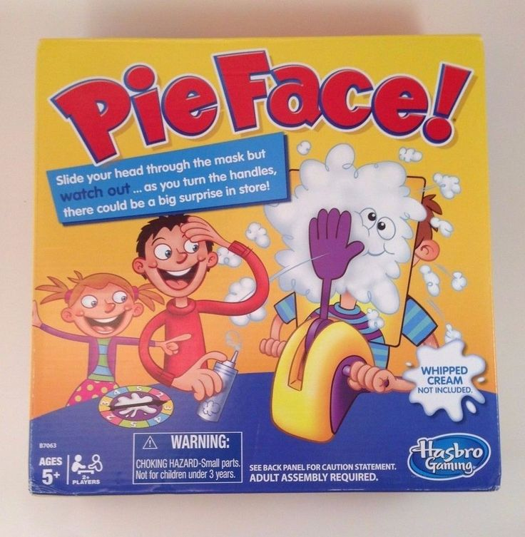 Toys face games vintage 6141 pie s