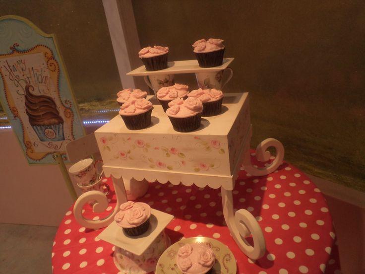 Cupcakes para DecoTortas