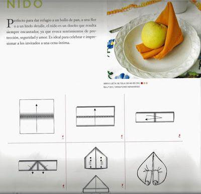 45 best images about protocolo on pinterest navidad - Como doblar servilletas de tela ...