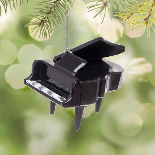 Decorate your tree with this baby baby grand piano.    Whether you're looking for stocking stuffers, Secret Santa presents, festive Christmas decor or even gift cards, we have a huge selection of unique holiday stuff to make your days and nights merry and bright.