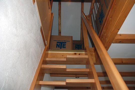 17 Best Images About Attic Storage On Pinterest Ladder