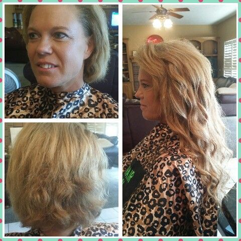 195 best omaha hair extensions beforen afters omaha hair 2014 before n after european braidless sew in using 200grams of 18 remy human hairhair creationshair extensionshairdressersmy pmusecretfo Images
