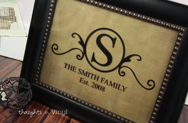 GroopDealz | Family Monogram