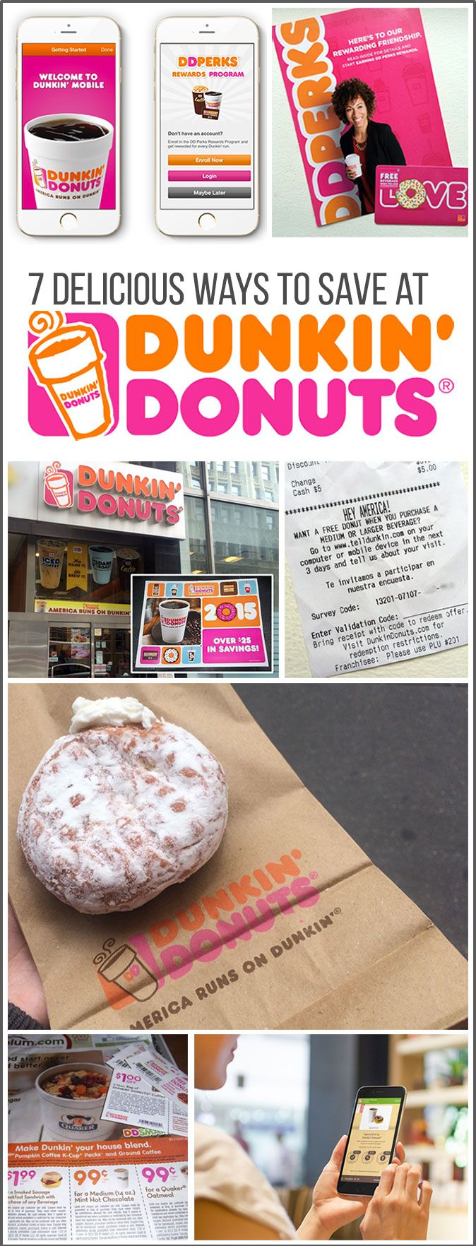 7 Delicious Ways to Save at Dunkin' Donuts