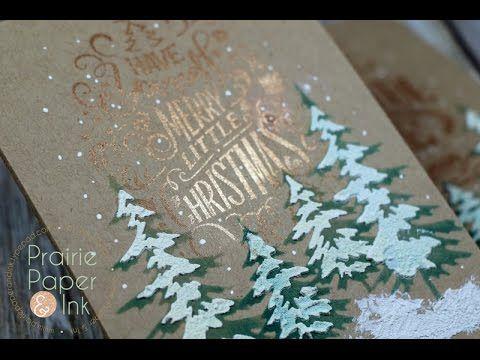 SSS Winter Flowers   Sakura Koi Watercolors   AmyR 2016 Christmas Card Series #7 - YouTube