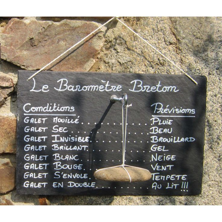 Le Baromètre Breton !!!