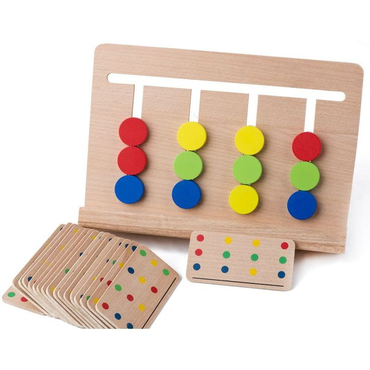 baby toy montessori four colors game color matching for early childhood education preschool training learning toys - Coloring Games For Preschoolers