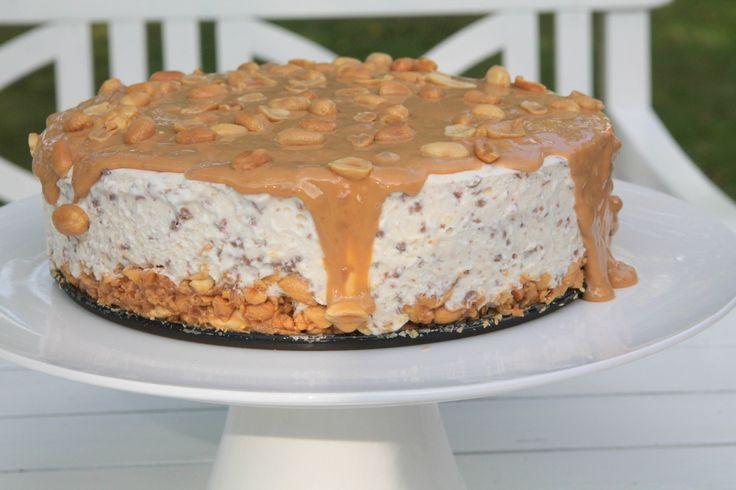 recept snickerscheesecake   Jennys matblogg