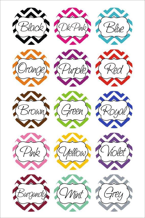Badge Holder Personalized Name Chevron by GoodGirlGoneBadge