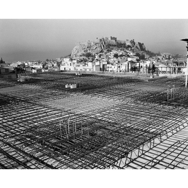 Dimitrios Harissiadis, Construction of the National Power Corporation employees' building. Athens, 1962 - Benaki Museum Shop