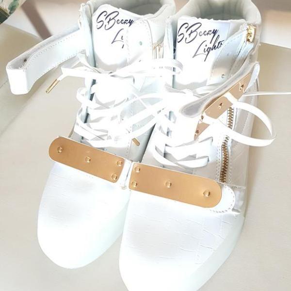White Knight Gold (Up to size 13) Bundle – SBeezy Lights by Soulja Boy