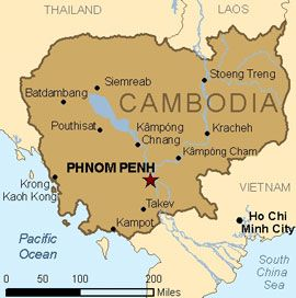 CDC's health advice for Cambodia travelers.