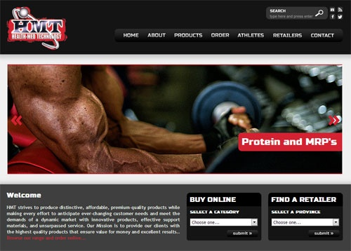 HMT Nutrition website  www.hmtnutrition.co.za